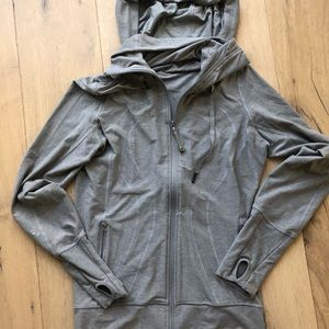Lululemon  track zip up jacket with hood